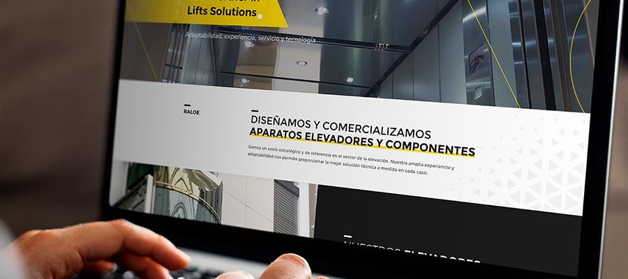 Nouveau site web corporatif